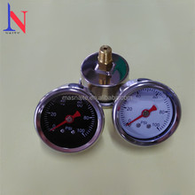 1.5 inch Miniature Mourdon Tube Pressure Gauges