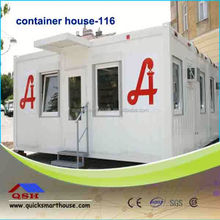 Prefabricated mobile container office