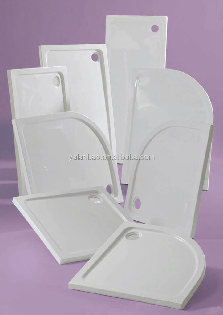 Acrylic shower tray made in china cheap shower tray ABS
