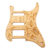 Wood Flower Pattern SSH Guitar Pickguard Replacement