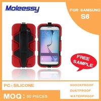 Waterproof cell phone case manufacturer for samsung s6