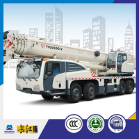 China supplier good quality white 55 ton truck cranes, 55 ton pickup truck crane