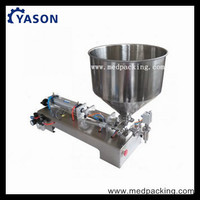 10-300ml Single Head Cream Shampoo Filling Machine with heating system