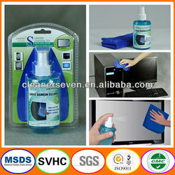 VCD & DVD lens screen cleaner cleaning spray