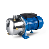 SJET(P/S)100 1hp Stainless Steel Self Priming Centrifugal Water Jet Booster Pump