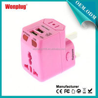 2014 Newest Designed Worldwide Use Universal 5v usb charger circuit