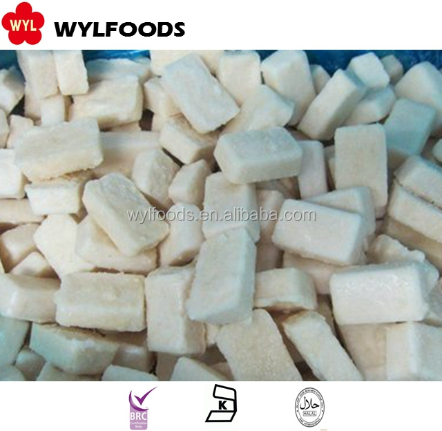 frozen white garlic crushed price with good quality
