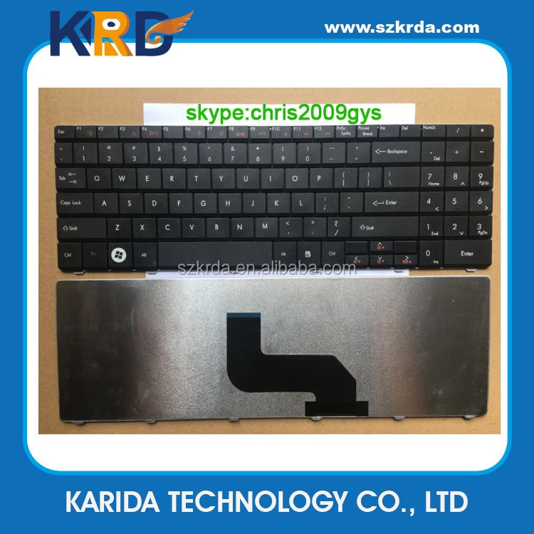Wholesale US keyboard for Acer eMachines E525 E527 E625 E627 E725 E727 laptop keyboard black