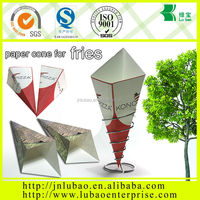 fancy &fashion paper cone bag for potato chips