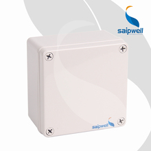 DS-AG-1212-S 125*125*75 Square Junction Box Outdoor Electronic Box Saip Saipwell Waterproof ABS Plastic Project Box