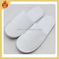 Wholesale custom white disposable slippers for hotel