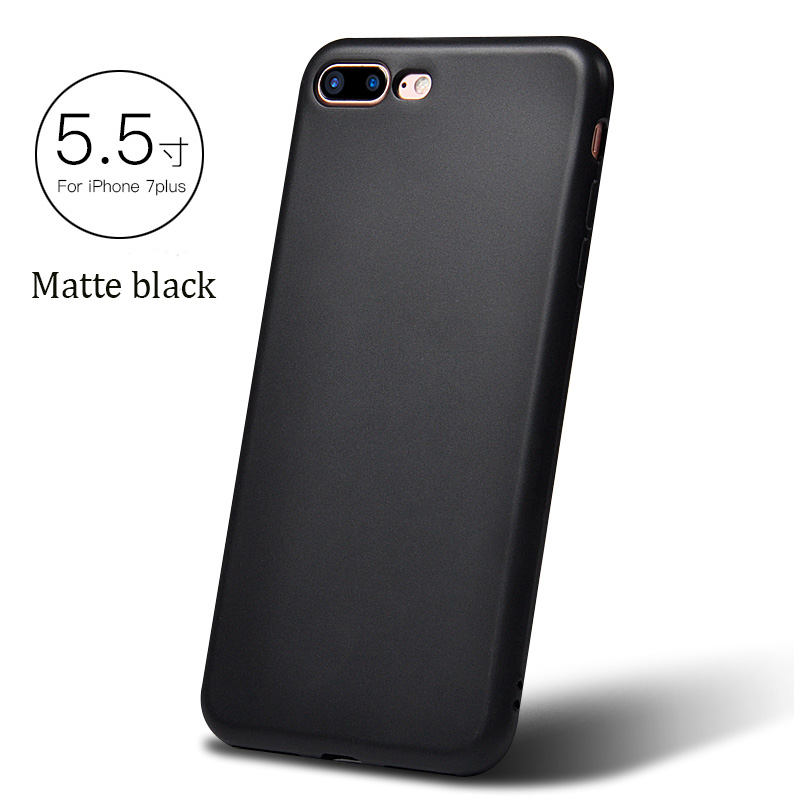 DFIFAN Lastest products 2017 New style thicker case for iphone 6/6s plus,1.3 mm frosted TPU case for iphone 6