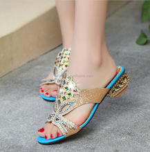 L1578A Alibaba china cheap women shoes wholesale ladies fashion shoes platform sandals elegant new design slippers