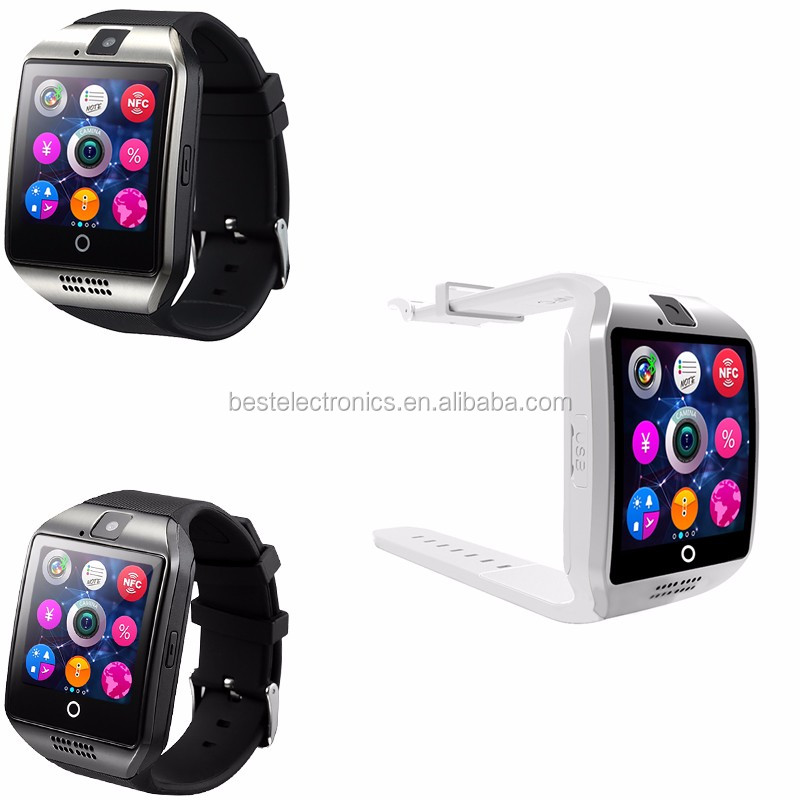 Bluetooth Smartwatch Q18 With Sim Card Camera Mobile Watch Phone For Android