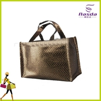 waterproof non woven laminated beach bag for man