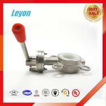 wenzhou sanitary corrosion resistant s/s butterfly valve stainless steel