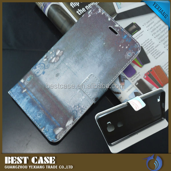 Wholesale Smart Cover Case For Huawei Ascend Mate 7 Leather Pouch