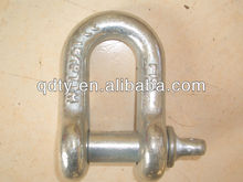 G-210 shackle D shackle rigging