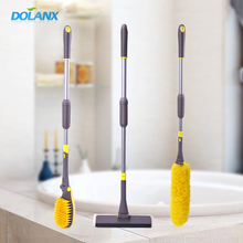 DOLANX House Hold Rotating Brush Wash Bending Cleaning Duster