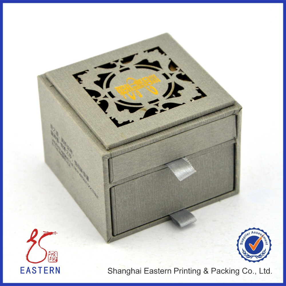 Jewelry Gift Packaging Boxes With Double Drawers