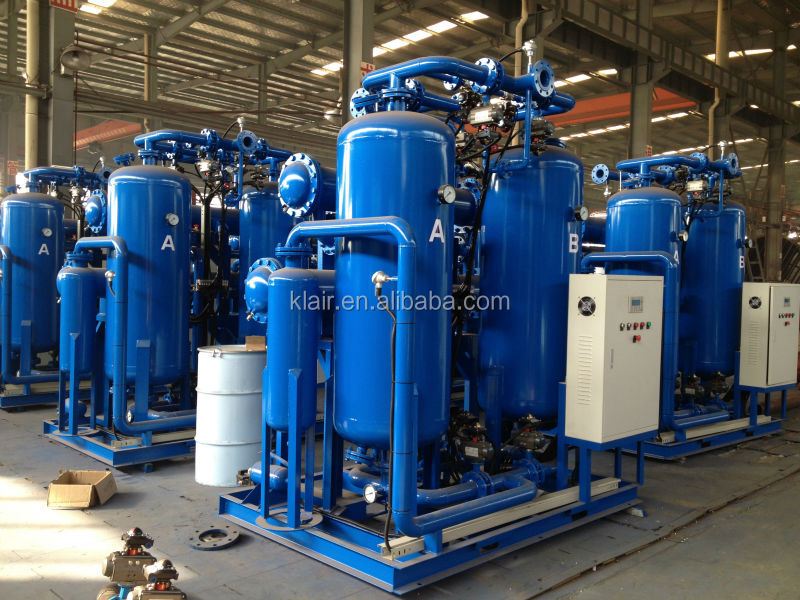 CE heatless regenerated adsorption compressed air dryer