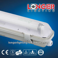 IP65 T8 18W/36W/58W ISO9001/CE/ROHS/GS/BSCI electronic fluorescent light fixture