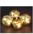 50mm Drilled Brass Hollow Ball