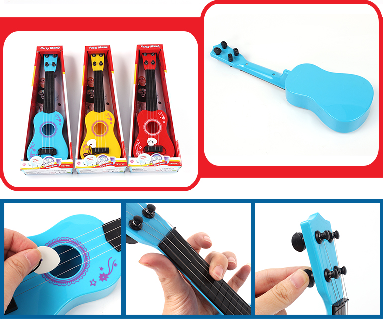 Educational instrument prefect sound musical mini toy guitar for children