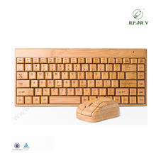 new hot sell high quality wooden wireless USB gaming keyboard ,gaming keyboard and mouse combo sets