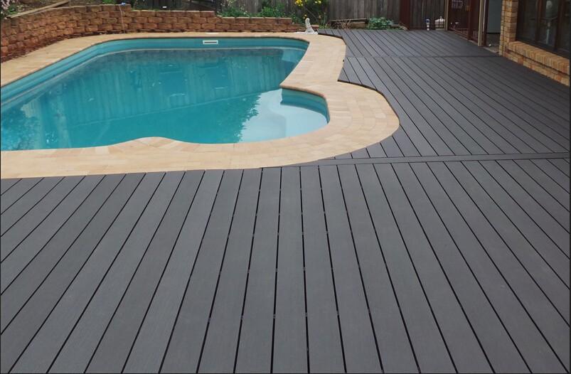 New Design Plastic Composite Wpc Deck For Swimming Pool Buy Plastic Swimming Pools Portable
