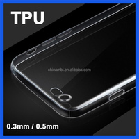 0.3mm cheap slim ultra thin transparent clear tpu mobile phone case for iPhone 6