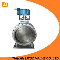 Carbon Steel A216 WCB Wedge/Disc CF8M FLANGED Concentric Butterfly Valve