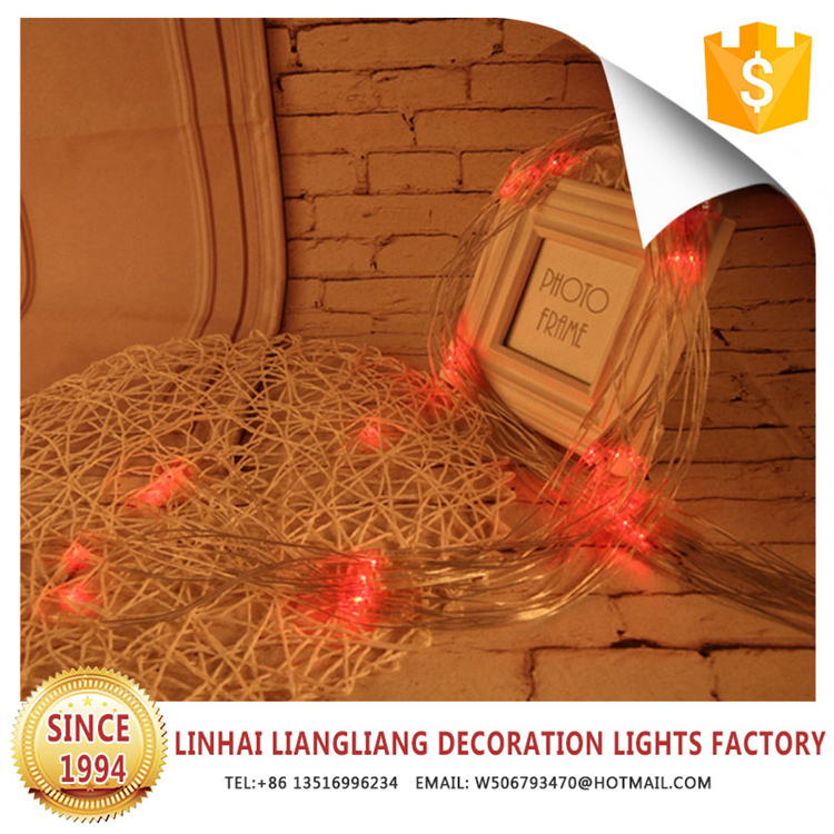 outdoor rechargeable red led christmas net lights