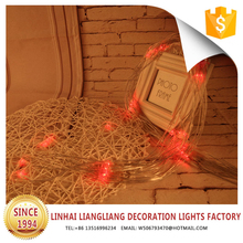 outdoor rechargeable red led christmas net lights holiday lighting
