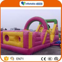 China factory durable inflatable obstacle pro racer course inflatable obstacle in playland