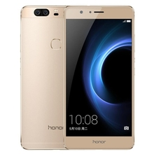 5.7 inch 4GB+64GB Gold Original unlocked Huawei Honor V8 KNT-AL20 with Dual Rear Cameras and online shopping