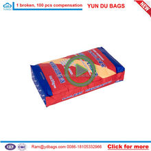 100% new PP virgin material good quality low price rice white PP woven bag