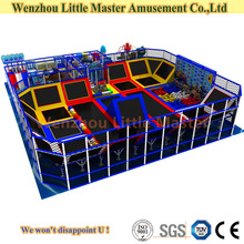 Large sized Indoor Trampoline With Foat Pit For Children