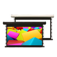 Cine tension electric projection screen