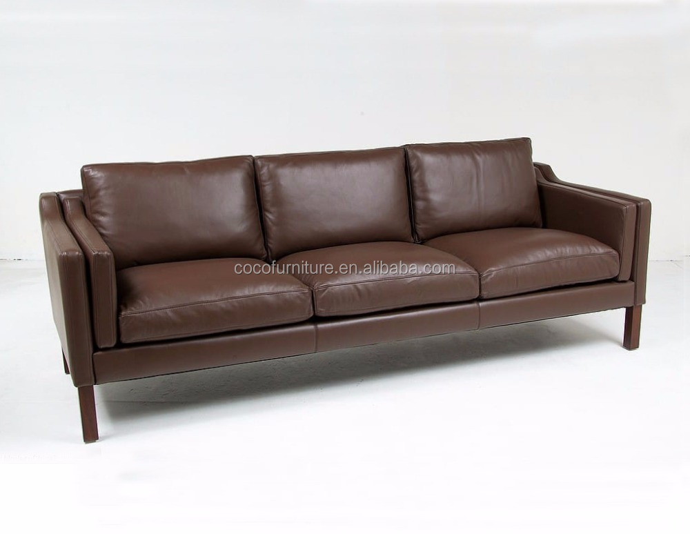replica furniture / Leather sofa / Designer couch for living room