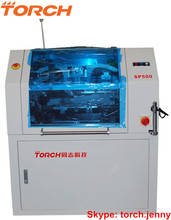 Automatic Solder Paste Stencil Printer with double squeegee SP500 (Torch)