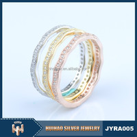 925 silver disign gold finger ring rings design for women with price