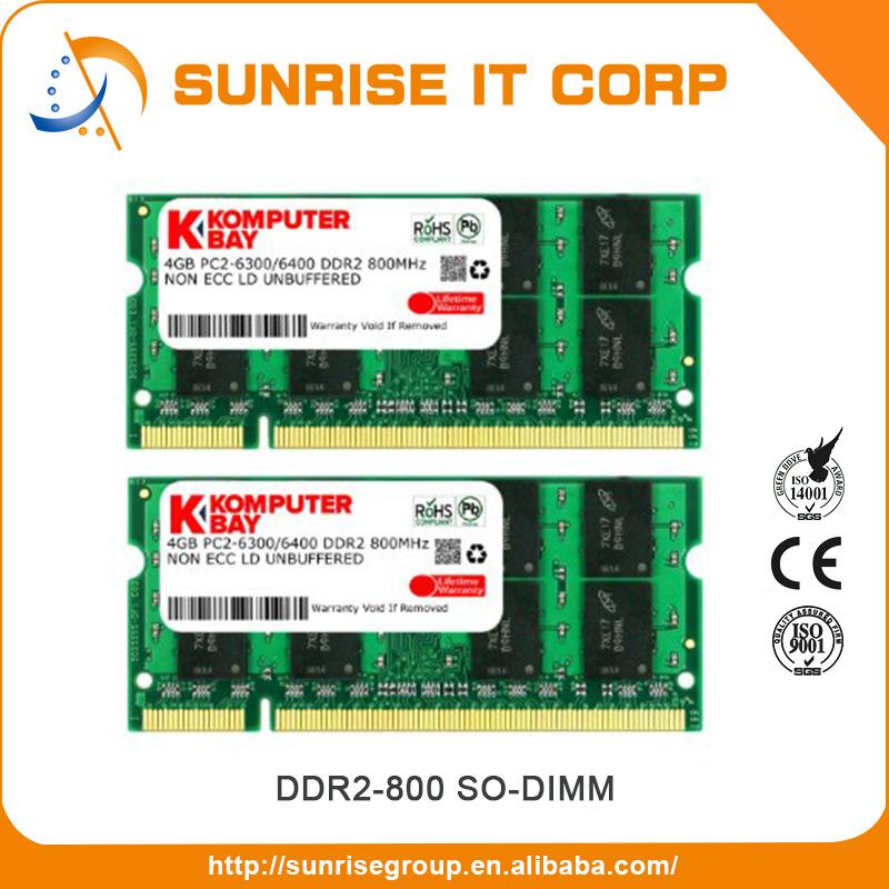 New design cheap bulk 2GB DDR Memory/Unbuffer Non-ECC Memory