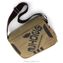 Cotton Canvas Laptop Computer Messenger Bags For Men Women Teens