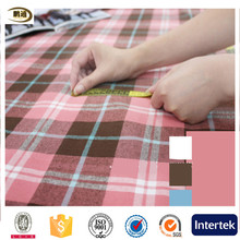 wholesale yarn dyed check cotton twill herringbone fabric of 32s 40s 50s 60s