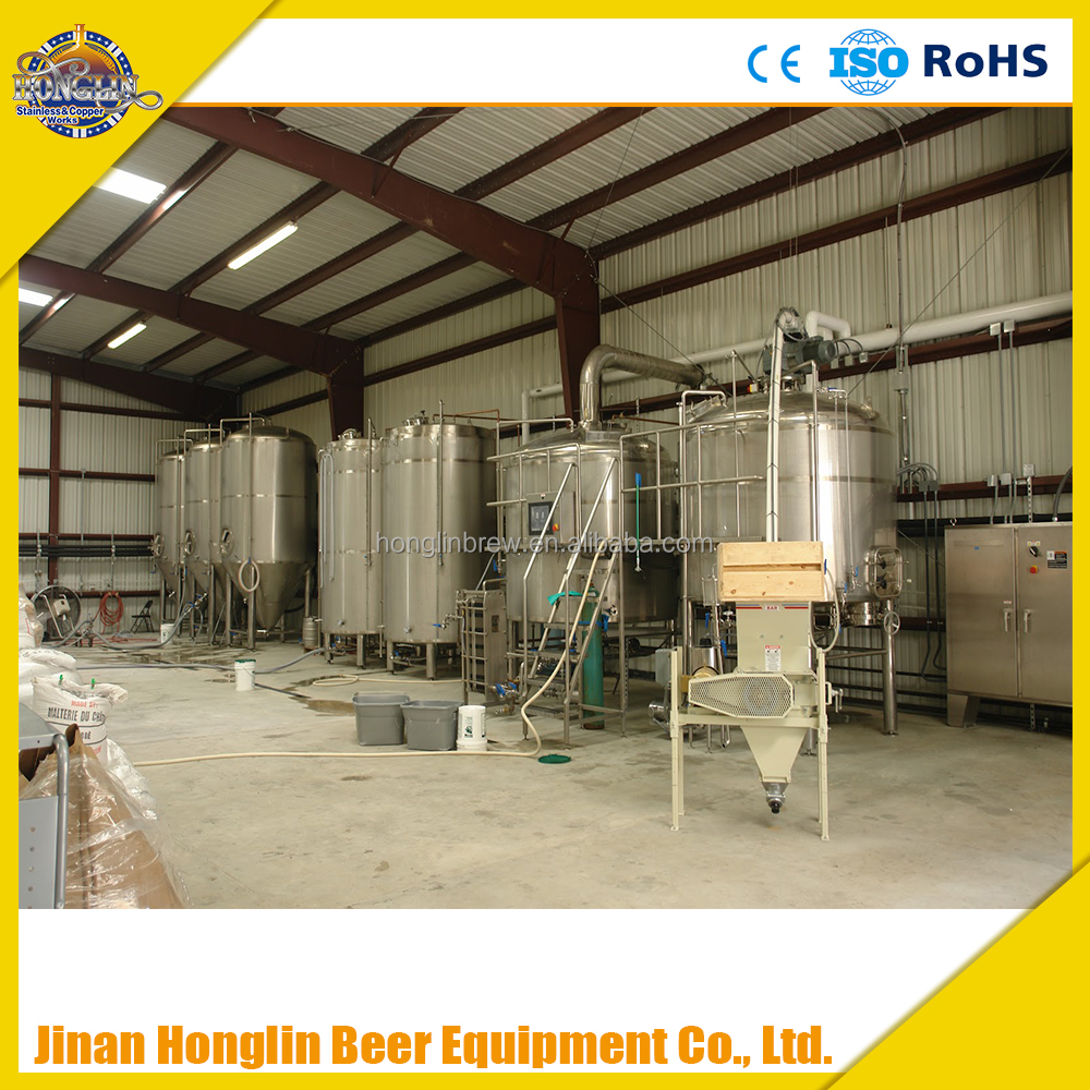 electrical heating industrial beer brewing equipment 1000L,fresh beer making system
