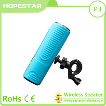 HOPESTAR Waterproof Bicycle wireless bluetooth speakers high quality portable mini soundbar mp3 player speaker with Aux/FM radio