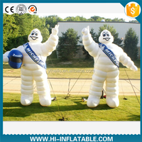 2015 Hot sale advertising/promotional inflatable Bibendum cartoon model for tire