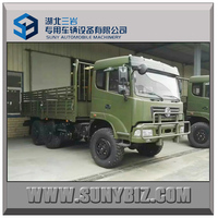 all hand drive truck 6x6 dongfeng cargo truck