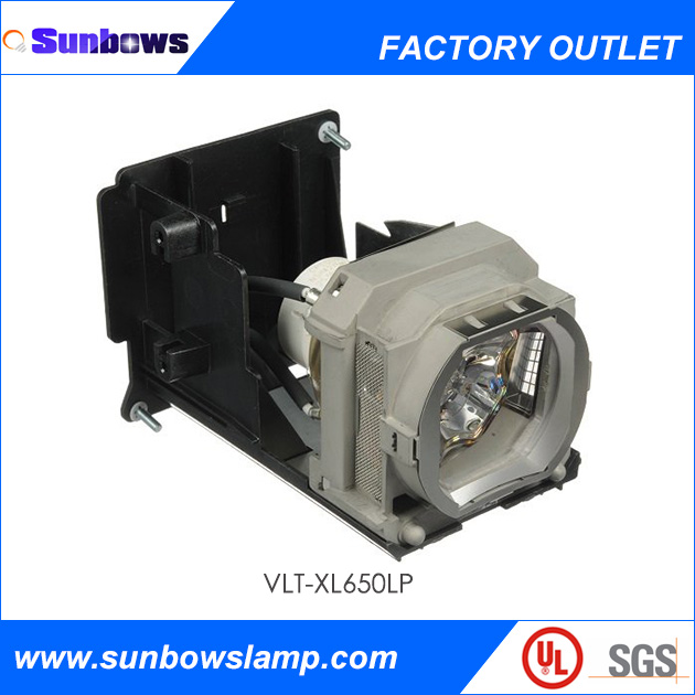 Sunbows Cheap TV Lamps Original Projector Bulbs With Housing VLT-XL650LP For MITSUBISHI HL650U